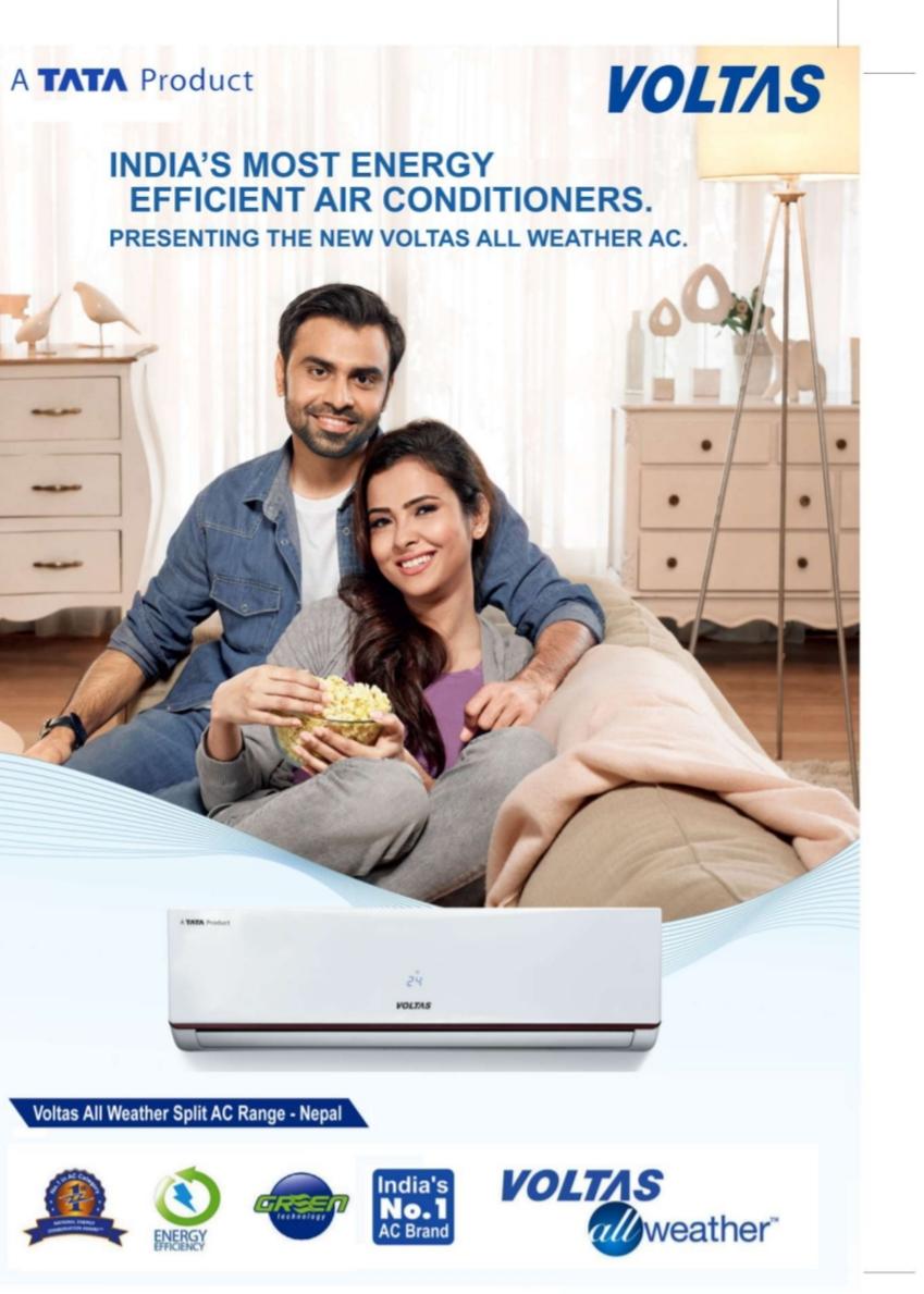 VOLTAS Air Conditioner Price in NEPAL