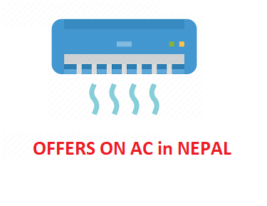 Air Conditioner On SALE / AC OFFER Price in Nepal