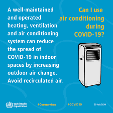 Can we use Air Conditioner during COVID-19 ?